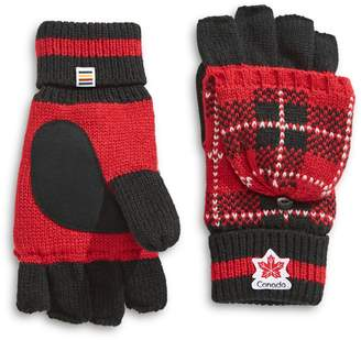 Canadian Olympic Team Collection Turn Cuff Flip Mittens