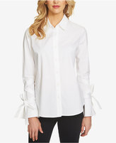 1 STATE 1.STATE Long-Sleeve Wrap-Detail Shirt