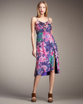 Mia Ruffle Floral-Print Dress