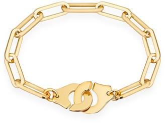 Dinh Van Menottes R15 18K Yellow Gold Handcuff Bracelet