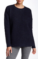 Theory Clancia Boxy Wool Pullover Sweater
