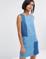 Vero Moda Patchwork Denim Dress