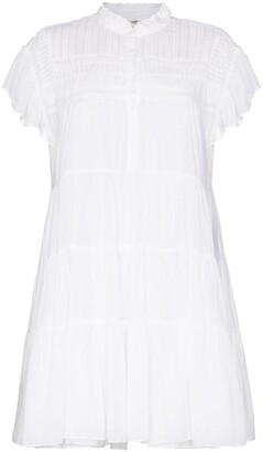Etoile Isabel Marant Lanikaye tiered mini dress