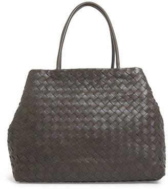 Bottega Veneta Large Intrecciato Shopper Bag