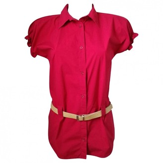 Moschino Love Red Cotton Top for Women