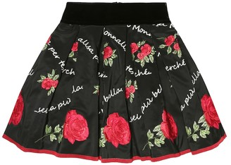 MonnaLisa Floral skirt