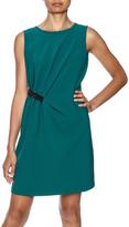 Jade Emerald Belted Dress
