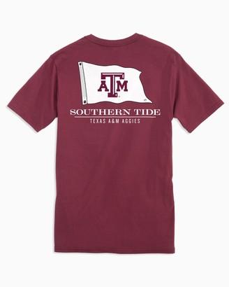 Southern Tide Texas A&M Aggies Flag Short Sleeve T-Shirt