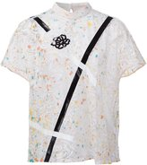 Christopher Kane lace embroidered top