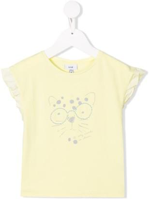 Knot Party leopard t-shirt