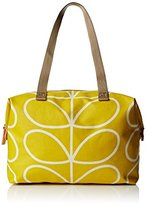 Orla Kiely Giant Linear Stem Zip Shopper Tote Bag
