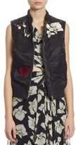 Elizabeth and James Kingston Embellished Bomber Vest