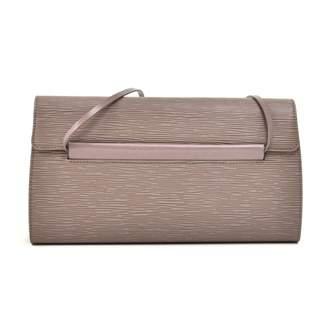Louis Vuitton Purple Leather Handbags