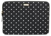 Kate Spade Classic Nylon - Mini Pavilion 13-Inch Laptop Sleeve - Black