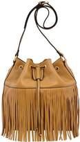Mellow World Casey Fringe Drawstring Bucket Bag (Women's)