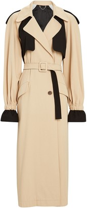 Jonathan Simkhai Paige Colorblocked Trench Coat