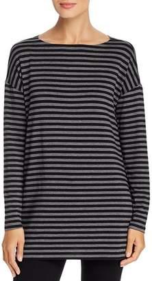 Eileen Fisher Striped Tunic Tee