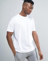 Bellfield T-Shirt With Drop Shoulder And Mesh Panels