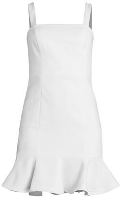 LIKELY Lilah Flounce Sheath Dress