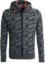 Superdry Tracksuit Top Black Camo