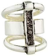 Lady Grey Channel Ring