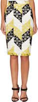 A.L.C. Women's Henri Crochet Pencil Skirt
