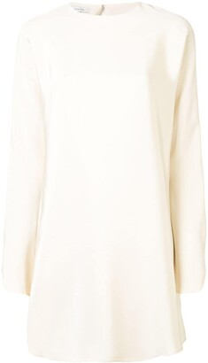 LA COLLECTION Silk Long Sleeve Tunic
