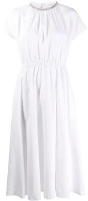 Fabiana Filippi Gathered Long Dress