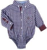 Andy & Evan Infant Boys' Check Shirt Bodysuit - Sizes 6-24 Months