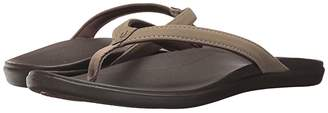 OluKai Ho'opio (Dark Java/Dark Java) Women's Sandals