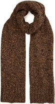 Warehouse Speckled Brown Scarf