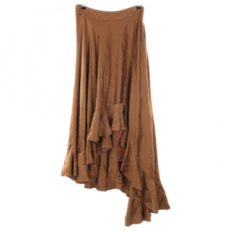 Zimmermann Brown Viscose Skirts