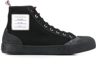 Thom Browne hi top vulcanized sneakers