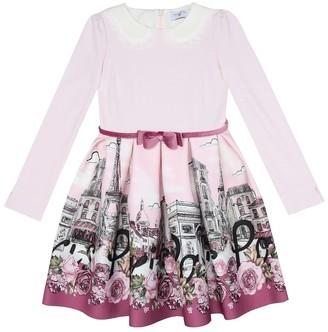 MonnaLisa Printed neoprene dress