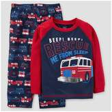 Just One You Toddler Boys' 2pc Rescue Truck Pajama Set - Just One You Made by Carter's® Red