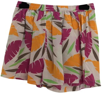 American Vintage Multicolour Silk Shorts for Women