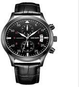yanlongshop Fashion leather calendar chronograph sports men's watch