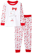 Intimo Olivia Shopper Tight Fit Pajama Set (Baby & Toddler Girls)