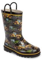 Western Chief Boy's Tractor Tough Rain Boot