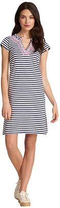Hatley Zara Dress - Navy Stripes Women's Clothing