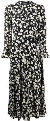 Polo Ralph Lauren Floral Print Midi Dress