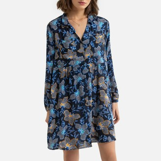 Esprit Long-Sleeved Shirt Dress