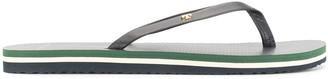 Tory Burch Striped Sole Flip Flops