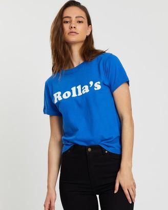 ROLLA'S Big Logo Tee