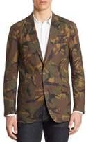 Polo Ralph Lauren Morgan Slim-Fit Camo Cotton Sportcoat