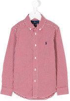 Ralph Lauren classic gingham shirt - kids - Cotton - 2 yrs