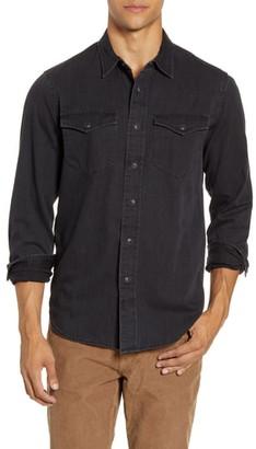 Madewell Black Wash Western Shirt