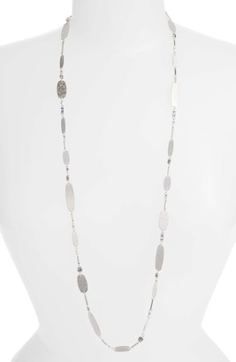 Kendra Scott Claret Long Strand Necklace