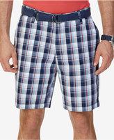 Nautica Men's Classic-Fit Plaid Cotton Shorts