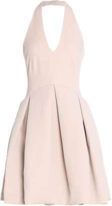 Halston Scuba Mini Dress
